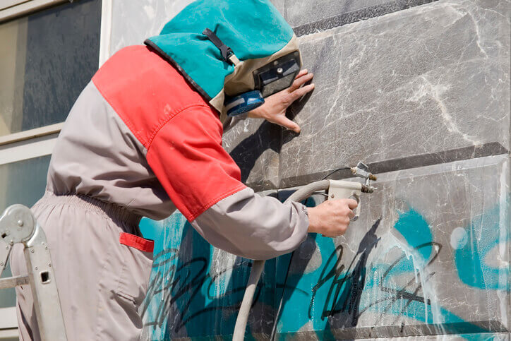 commercial graffiti removal services willow grove pa