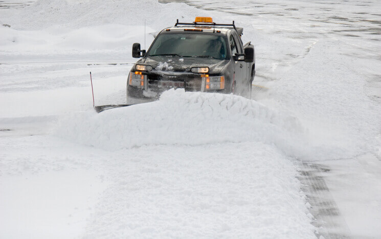commercial snow plowing services willow grove pa